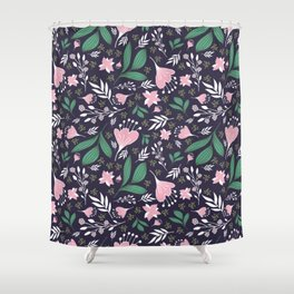 Spring Flowers Style D Shower Curtain