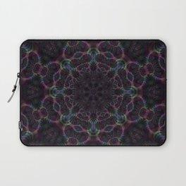 Branching Rainbow Fractal Kaleidoscope 2 Laptop Sleeve