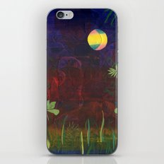 Moon Garden iPhone & iPod Skin
