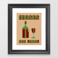 Favorite Sacramental Wine Framed Art Print