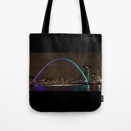 Midnight at the Millennium Bridge Tote Bag
