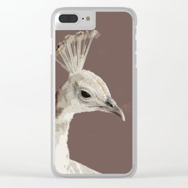 The White Queen Clear iPhone Case