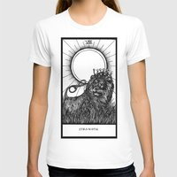 tarot T-shirts featuring Strength Tarot by Corinne Elyse