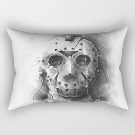 The Horror of Crystal Lake Rectangular Pillow