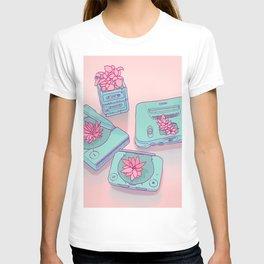 Flowers & Consoles T-shirt