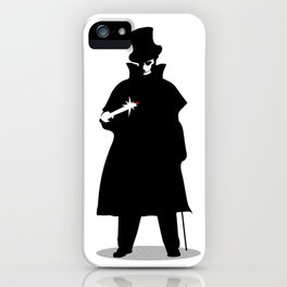 Jack The Ripper iPhone Case