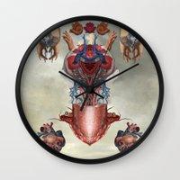 kaiju Wall Clocks featuring Kaiju by DIVIDUS