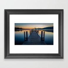 Lake George Framed Art Print