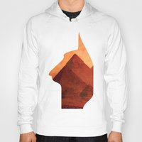 egypt Hoodies featuring Egypt by Mehdi Elkorchi