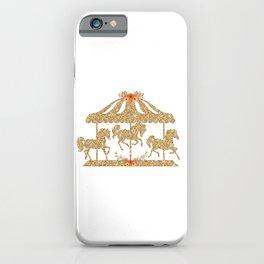 Glitter Carousel iPhone Case