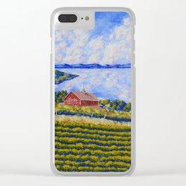Vineyard On Canandaigua Lake Clear iPhone Case