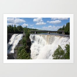 The Kakabeka Falls Art Print