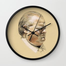 Ford the Philosopher Wall Clock