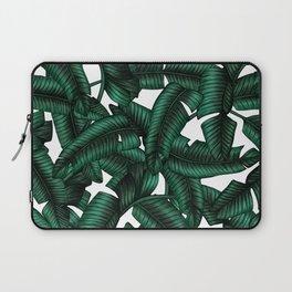 Banana leaves pattern. Laptop Sleeve