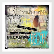 Continue Dreaming Art Print
