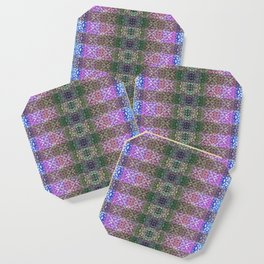 Shibori Sue Plaid Coaster