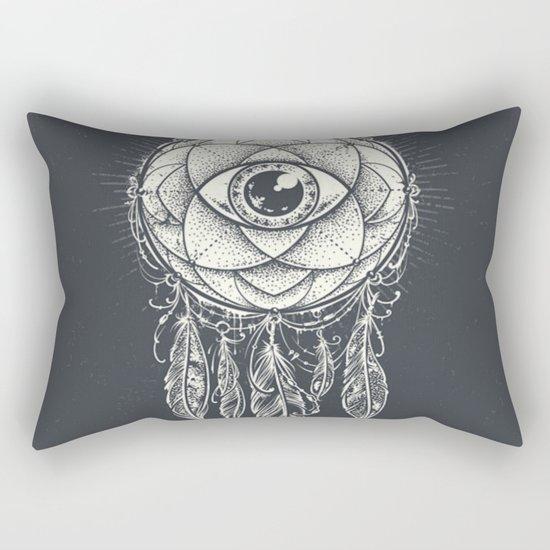 Dream catcher eye Rectangular Pillow