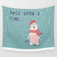 Once upon a time...  Wall Tapestry