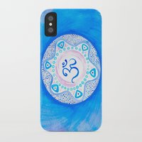 ohm iPhone & iPod Cases featuring Ohm / Om 2 by HollyJonesEcu