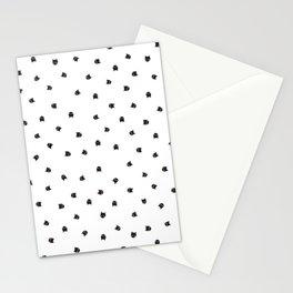 Black Cats Polka Dot Stationery Cards