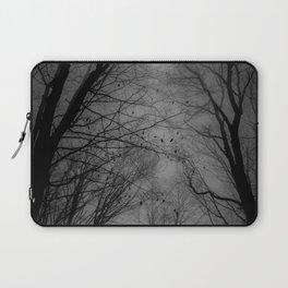 Tree of black Laptop Sleeve