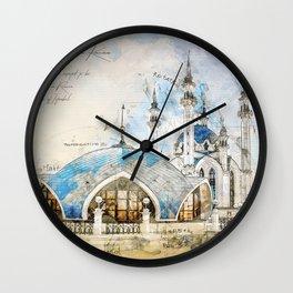 Kul Sharif Mosque, Kazan Wall Clock