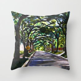 South Campus Throw Pillow