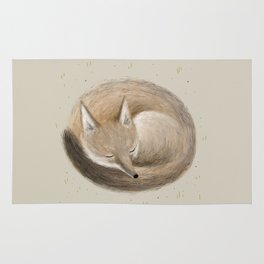 Swift Fox Sleeping Rug