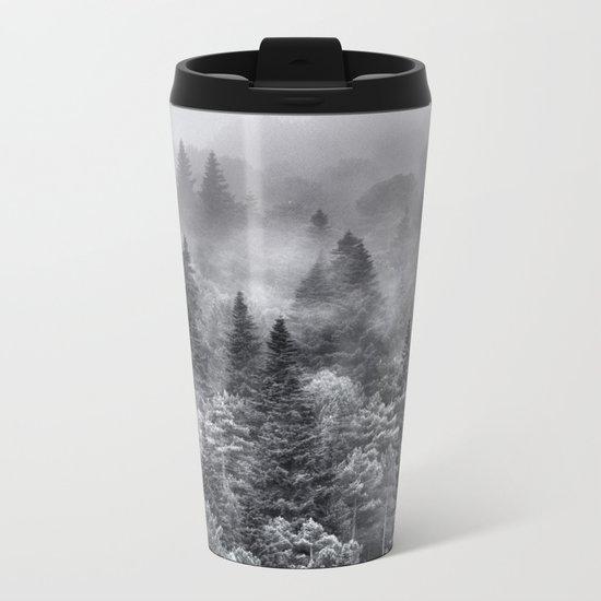 Foggy night Metal Travel Mug