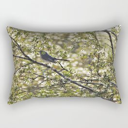 Gnatcatcher Rectangular Pillow