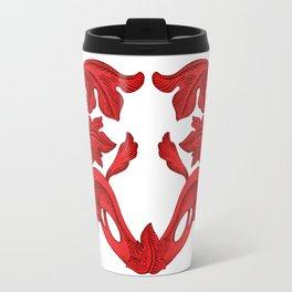 heart red Travel Mug
