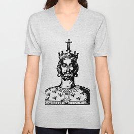 Charlemagne Unisex V-Neck