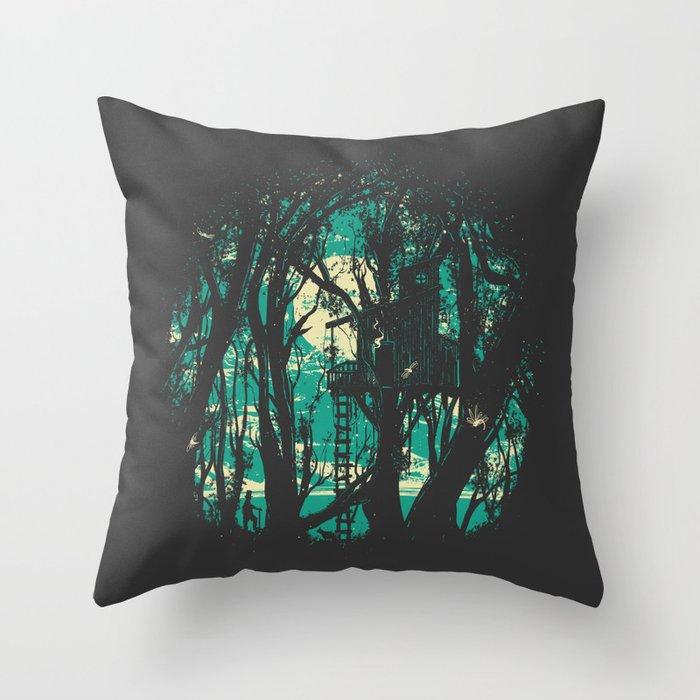 Post Meridiem Throw Pillow