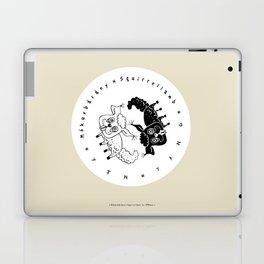 Squirrellamb © Mókusbárány - Yin-Yang /2 Laptop & iPad Skin