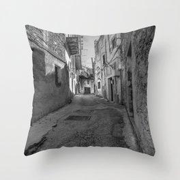 Caltabellotta Sicily Throw Pillow