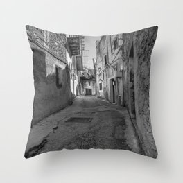 Caltabellotta Sicily Throw Pillow