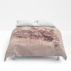 Guns & Flowers Comforters