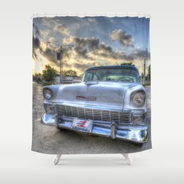 Gonzales Chevy Shower Curtain