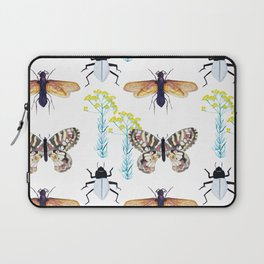 Watercolor Insects Laptop Sleeve