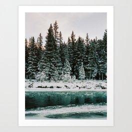 Bow River Art Print