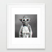 yoda Framed Art Prints featuring Yoda by Iotara