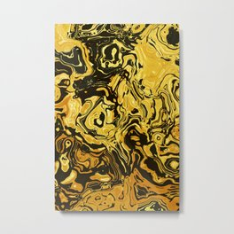 Abstract Design Metal Print