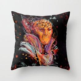 Splatter G'Kar Throw Pillow