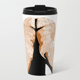 PLACE YOUR HANDS TO YOUR FEET Metal Travel Mug