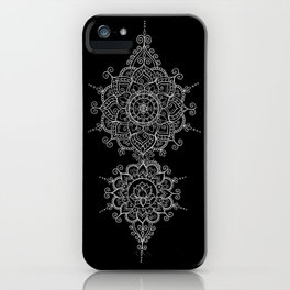 Mendi Mandala Madness  iPhone Case