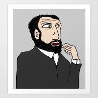 gustav klimt Art Prints featuring Gustav Klimt by tizia