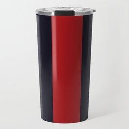 High Fashion Designer Style Stripes Travel Mug