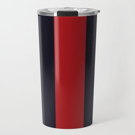 High Fashion Designer Style Stripes Travel Mug