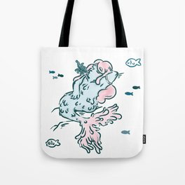 Seaweed & chill Tote Bag