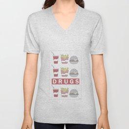 DRUGS Unisex V-Neck